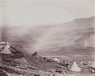 Roger Fenton (1819-1869) - The Lines of Balaklava,