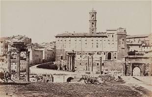 James Anderson (1813-1877) - Roman Forum Looking