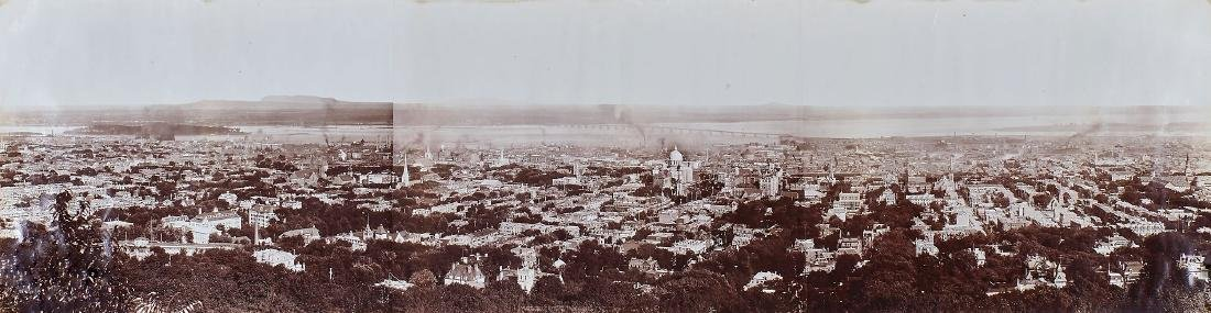 Notman & Son (active from 1882) - Panorama of Montreal,
