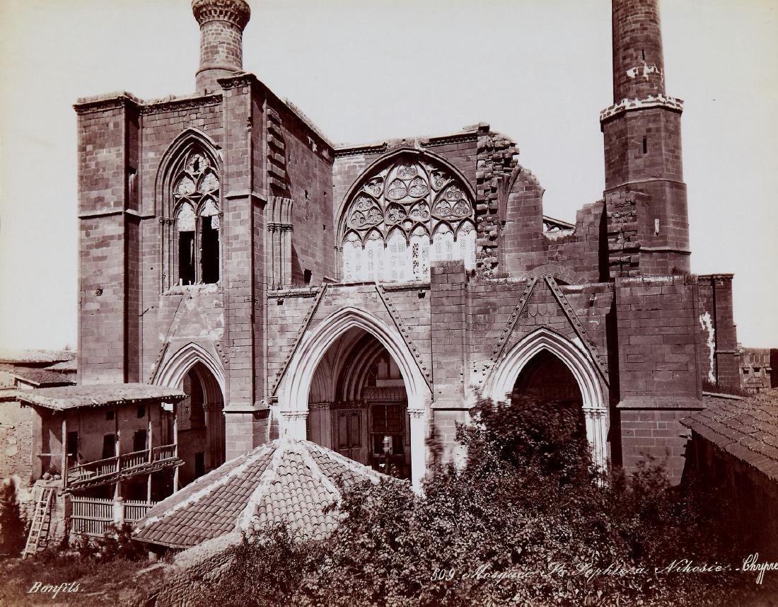 Felix Bonfils (1831-1885) - Mosquee Ste Sophie in