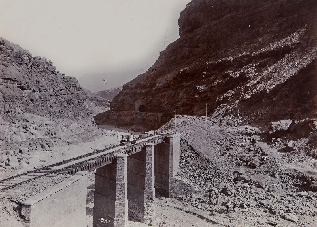 Fred Bremner (1863-1941) - Railways in North West