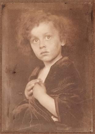 Gertrude Käsebier (1852-1934) - Study Of A Child,