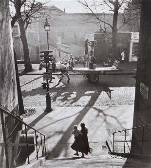** Willy Ronis (1910-2009) - Avenue Simon Bolivar,