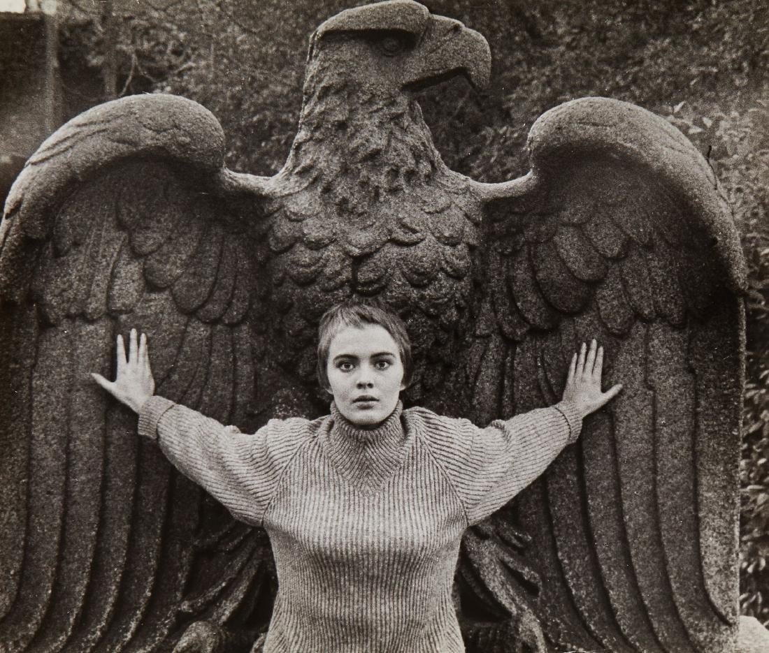 Bob Willoughby (1927-2009) - Jean Seberg, Central Park,