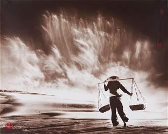 Don Hong-Oai (1924-2004) - Sandstorm, Vietnam, 1969