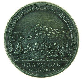 1D: Boultons Trafalgar Medal 1805