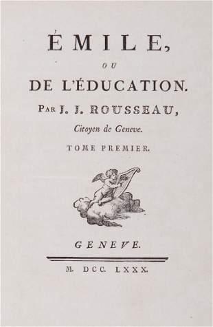 Rousseau (Jean-Jacques) - Émile,
