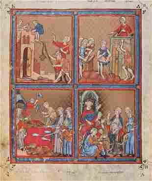 Judaica.- 'The Golden Haggadah'.- - one of 20