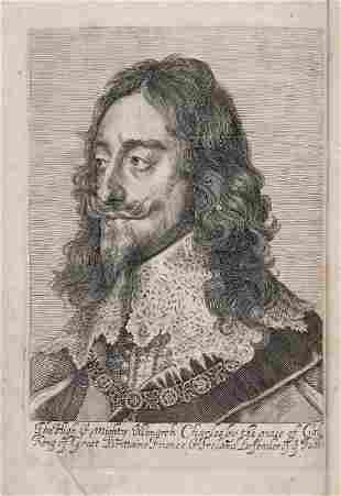 Charles I (King).- [[Balcanquhall (Walter)] - A Large