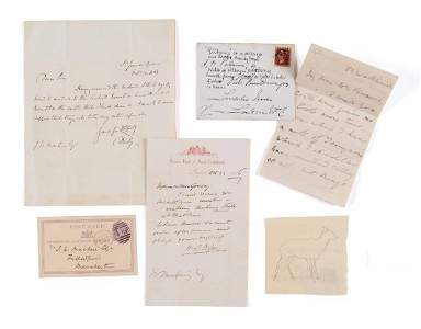 Collection of Letters - Collection of autographs,