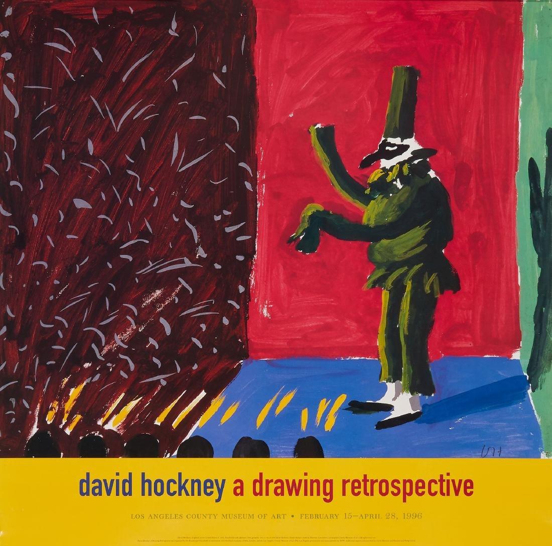 HOCKNEY, David - DAVID HOCKNEY RETROSPECTIVE