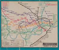 STINGEMORE FH  UNDERGROUND RAILWAYS OF LONDON