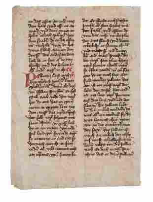 The Pelican from a manuscript copy of Konrad von
