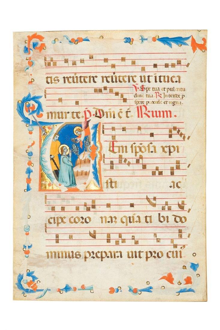 The Master of the Montepulciano Gradual , a virgin