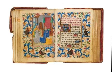 The Madruzzo Hours, Use of Rome, illuminated manuscript