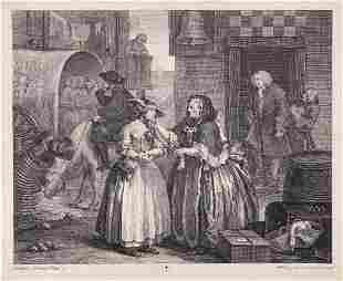 Hogarth William A Harlots Progress