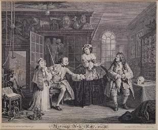 Hogarth William Marriage a la Mode