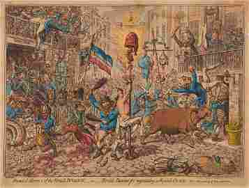 Gillray (James) - Promis'd Horors of the French
