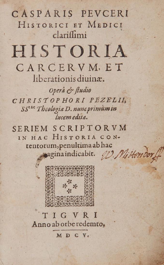 Peucer (Caspar) - Historia Carcerum et Liberationis