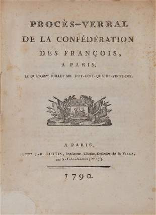 French Revolution Proc232sverbal de la