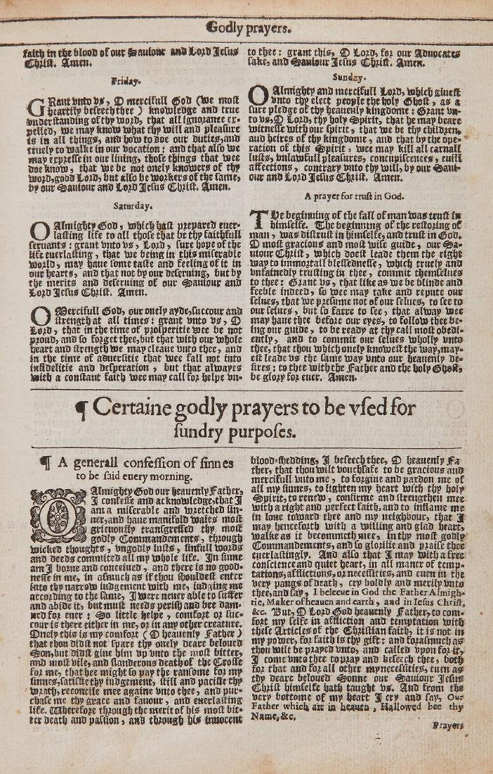 Bible, - Bible 1634