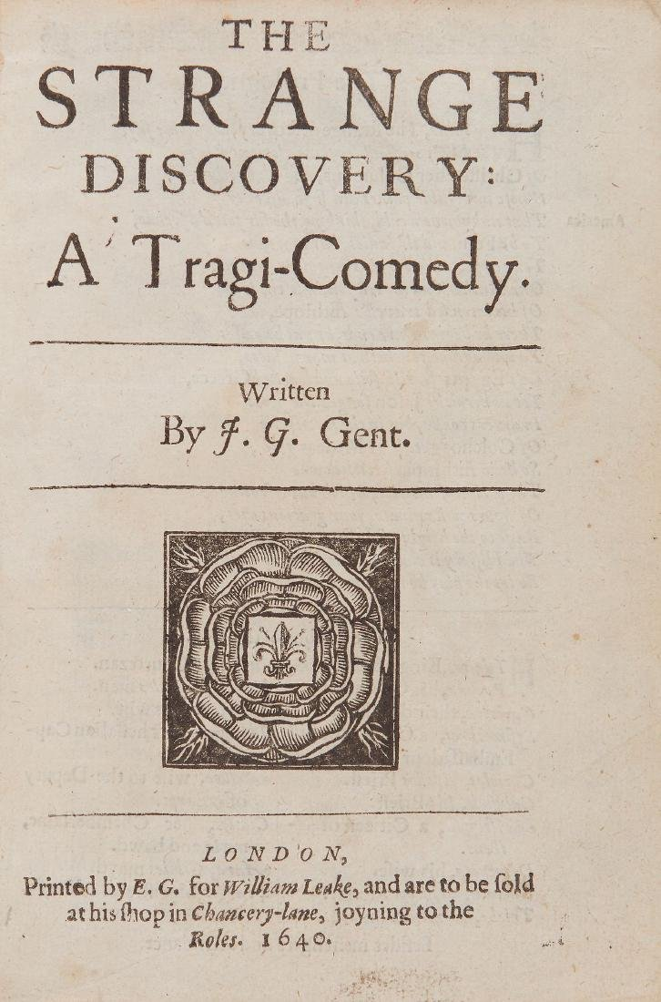 G[ough] (J[ohn]) - The Strange Discovery: a