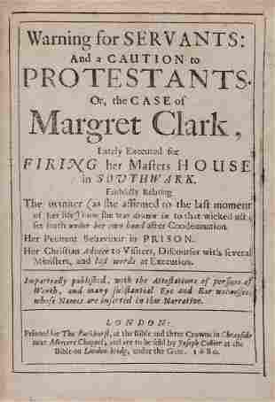 Clark Margret Warning for Servants