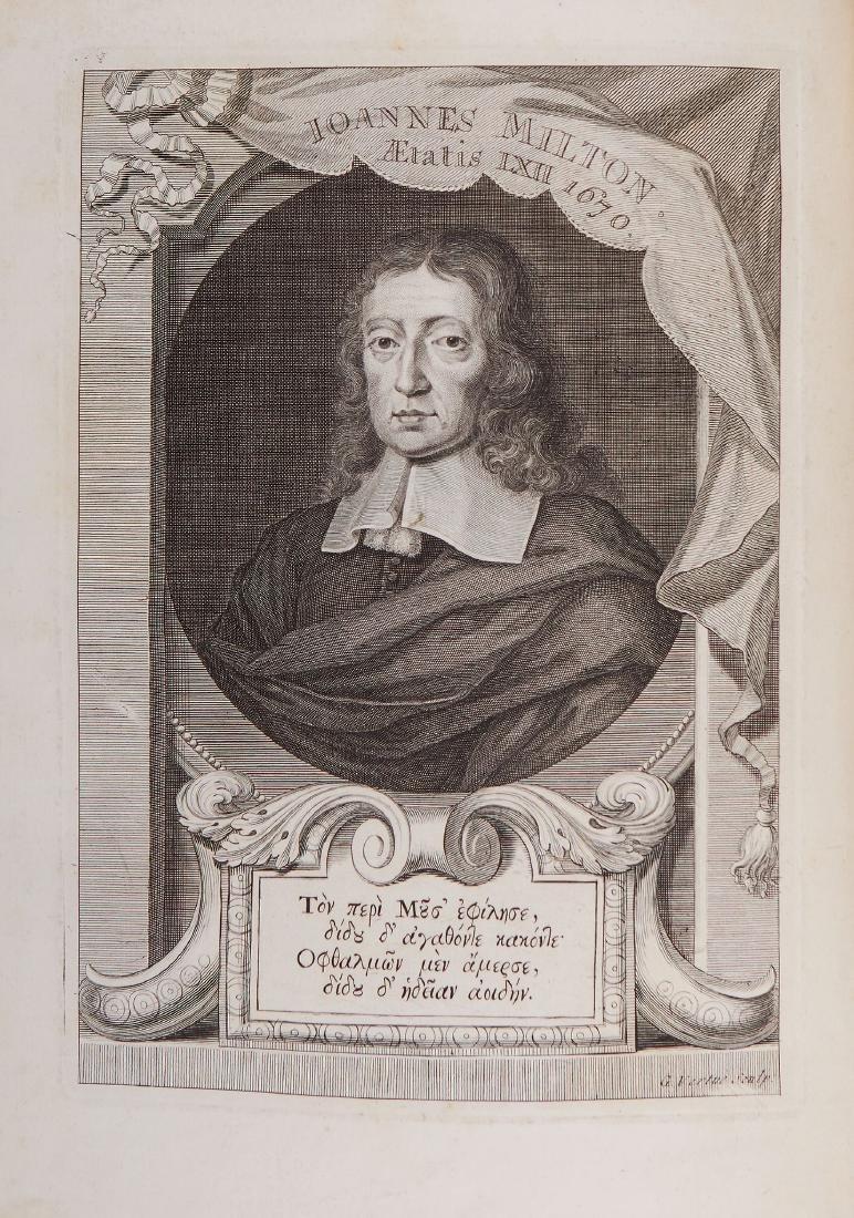 [Milton (John)]. Newton - The Poetical Works of John