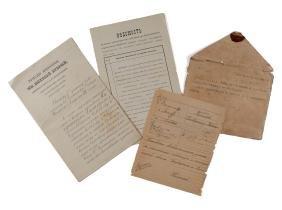 Nicholas Ii, Czar Of Russia - Document Signed ,