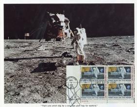 Armstrong (neil) - Colour Photograph Of Buzz Aldrin