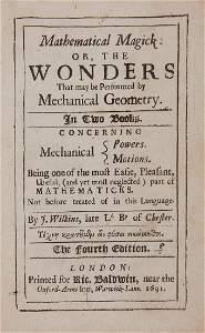 Wilkins (J) - Mathematical Magick:
