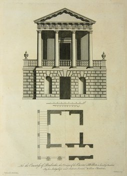628D: Chambers.Treatise on Civil Architecture,1759