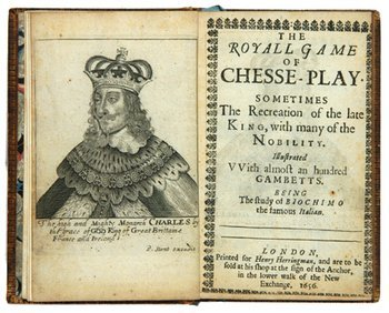 19E: Grecho, The Royall Game of Chess-Playe, 1656