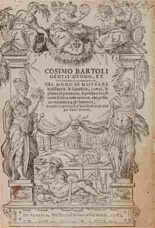 Bartoli Cosimo Del modo di misurare le distantie