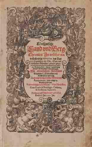 Albinus Petrus Meissnische Land und BergChronica