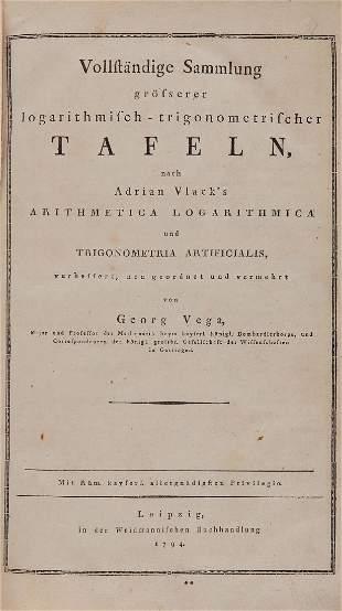 Vega Georg Freiherr von Vollst228ndige Sammlung