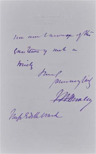 Huxley Thomas Henry Autograph letter signed in
