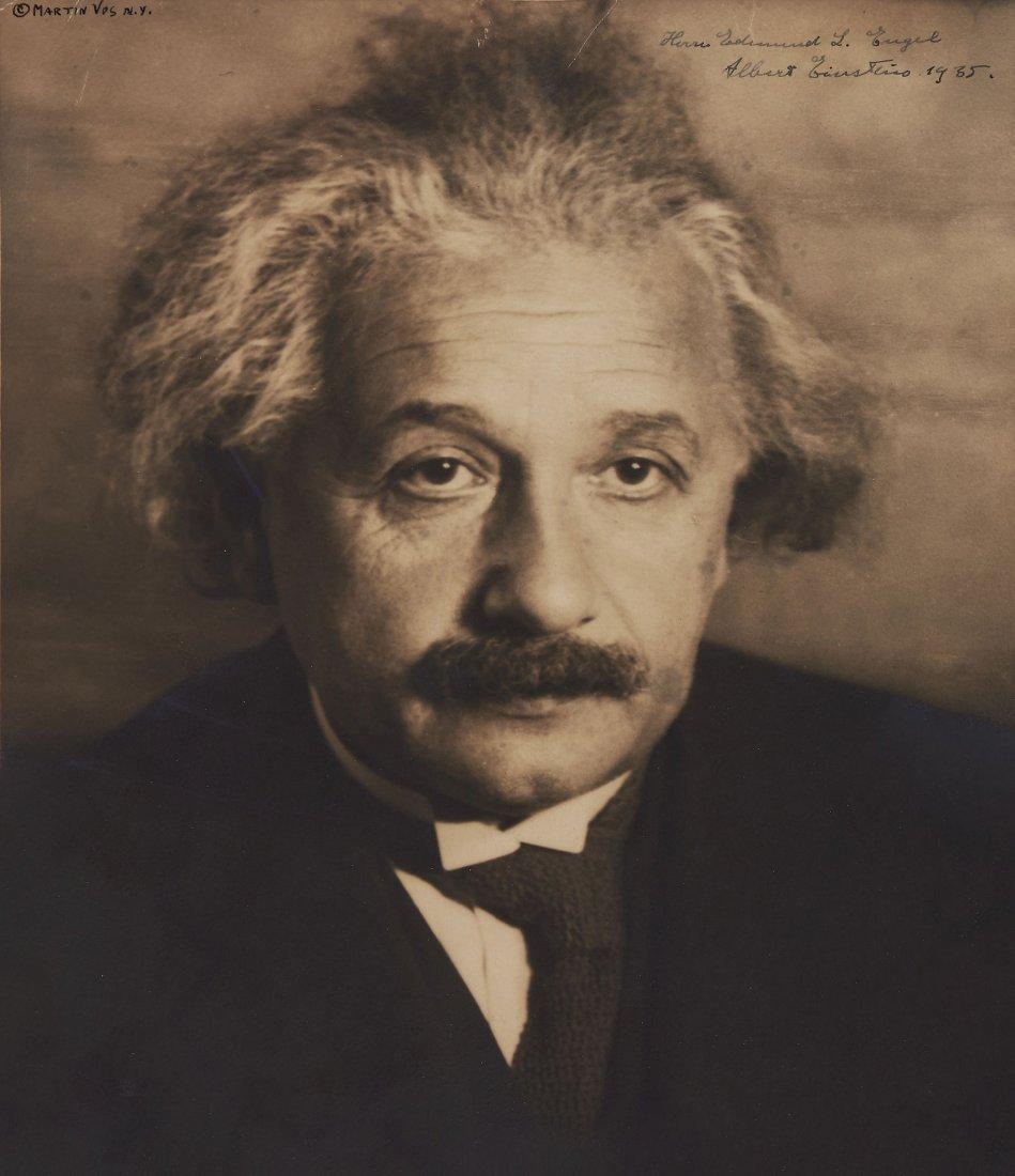Einstein (Albert) - Vintage, sepia toned, head and