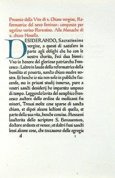 6B: Verino.Vita di Santa Chiara,Ashendene,1921