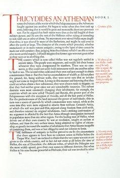 9B: Thucydides.Hist.Pelopnnesian War,Ashendene
