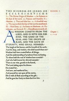 11B: Ecclesiaticus,1/328,Ashendene Pr,1932