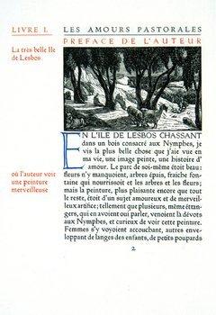 12B: Longus.Daphnis et Chloe,Ashendene,1933