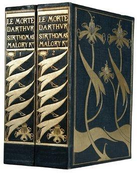 18B: Malory.Morte Darthur,12 orig.pts.2 boxes,1893