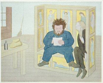 23B: Beerbohm.Rossetti & Circle,1/380,sig'd,1922