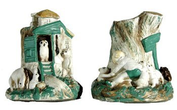 431B: Milne (A.A.) Pair of Winnie-the-Pooh bookends