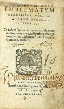 2C: Alciati (Andrea) Emblemata