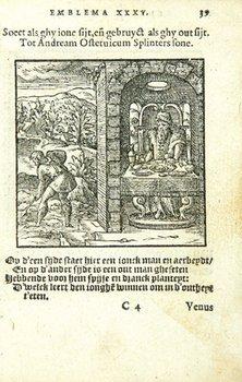16C: Junius (Hadrianus) Emblemata