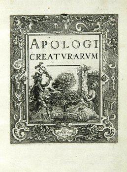 18C: Moerman (Jan) Apologi Creaturarum