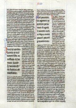 2D: Bible, Latin, bifolium