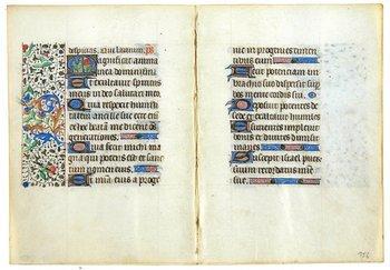 6D: Book Of Hours, 2 bifolia